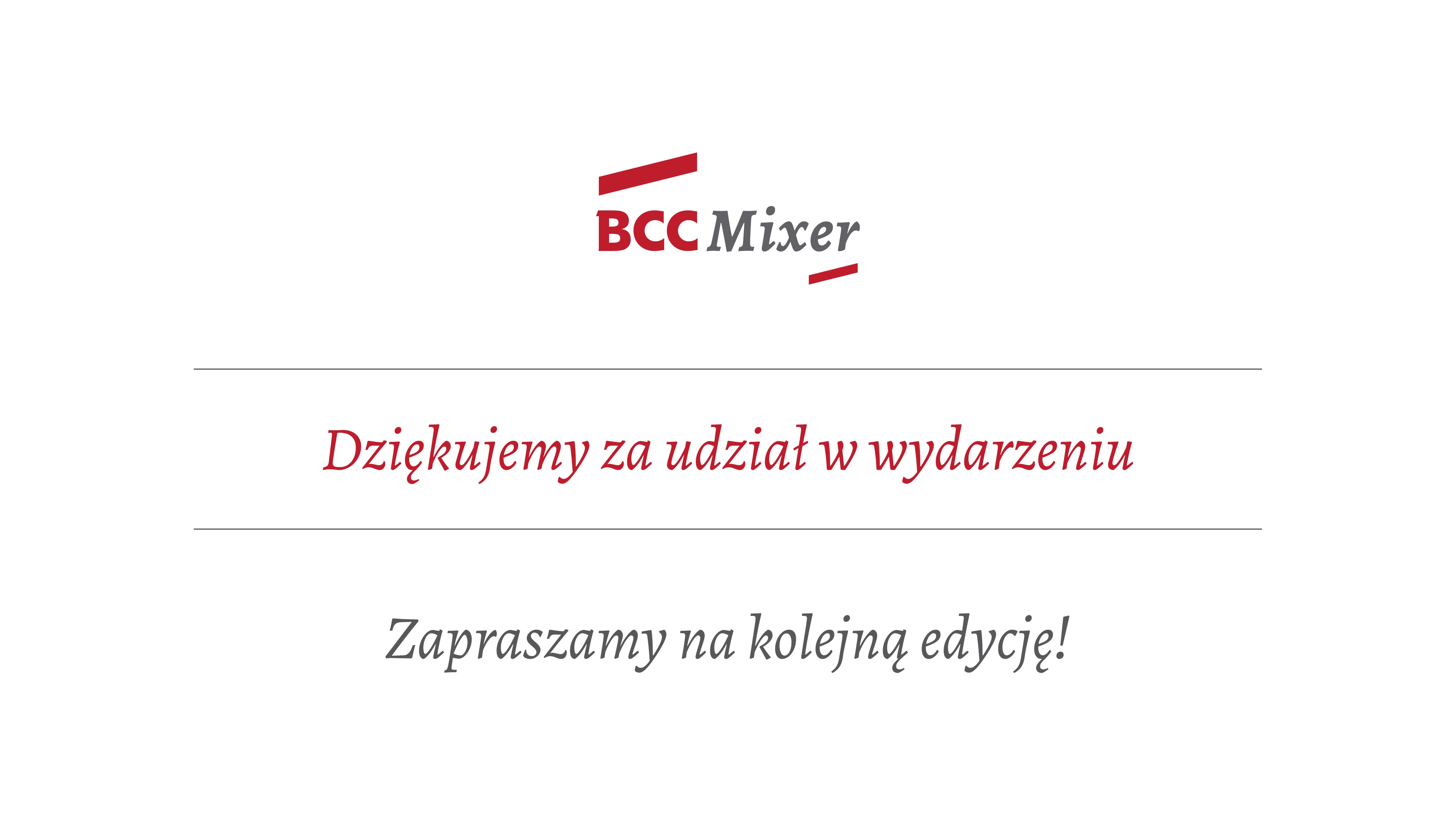 """""""Biznes to relacje. Porozmawiajmy"""" – to hasło przewodnie kolejnej edycji BCC Mixer, która odbyła się na MEETING15"""